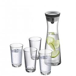 Basic karafka do wody ze dwiema szklankami