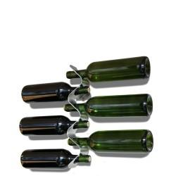 Flow Wieszak na butelki do wina lub szampana