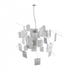 Zettelz 6 lampa wisząca
