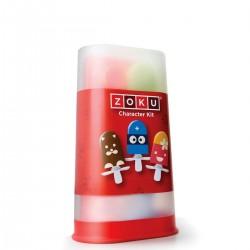 QUICK POP Zestaw do dekorowania lodów z pojemnikiem, 17 elementów