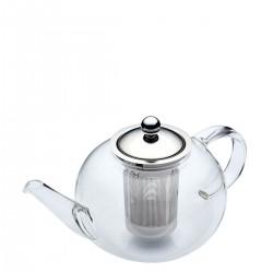 Dzbanek do herbaty z zaparzaczem przezroczysty
