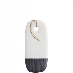 Kitchen Craft Deska do serwowania biały i czarny marmur