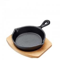 Kitchen Craft Artesa Patelnia żeliwna z deską do serwowania