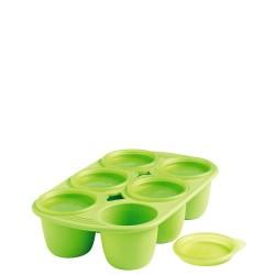 Mastrad Mastrad Forma z 6 wgłębieniami na posiłki dla dziecka