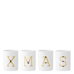 Nordic moods Zestaw czterech świeczników