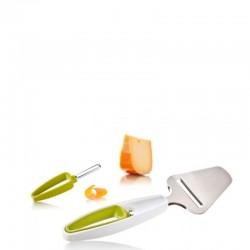 Tomorrows Kitchen Nóż do sera z obieraczką do skórek