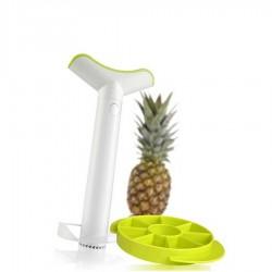 Pineapple Slicer narzędzie do wycinania ananasa z krajaczem