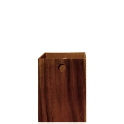 Acacia Wood Kosz łazienkowy