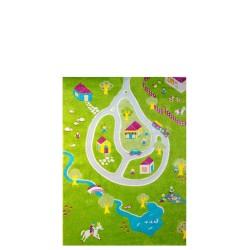 IVI Carpets Wioska Dywan Soft Play - żółty