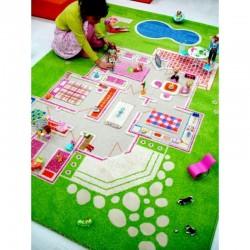 IVI Carpets Domek dla lalek Dywan 3D - zielony