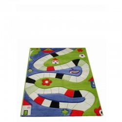 IVI Carpets Plansza do gry Dywan Play - niebieski