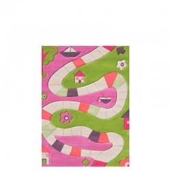 IVI Carpets Plansza do gry Dywan Play - różowy