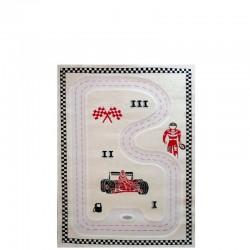 IVI Carpets Formuła 1 Dywan 3D - kremowy