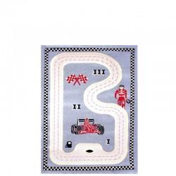IVI Carpets Formuła 1 Dywan 3D - szary