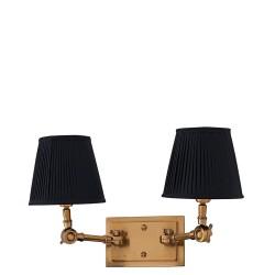 Eichholtz Wentworth Double lampa ścienna