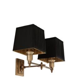 Eichholtz Lexington Double lampa ścienna