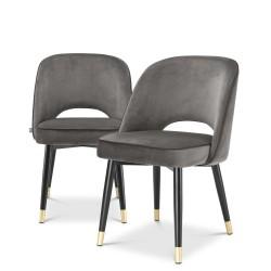 Eichholtz Cliff krzesła do jadalni, 2 szt.
