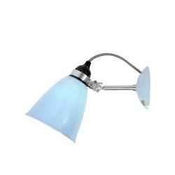 Original BTC Hector Medium Dome Light Blue lampa ścienna, kinkiet