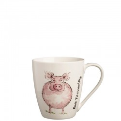 PRICE & KENSINGTON Back To Front Pig Mug kubek