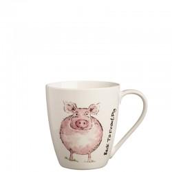 Back To Front Pig Mug kubek