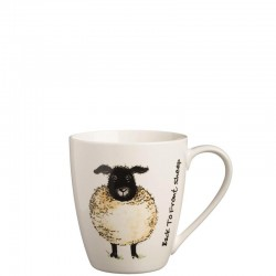 Back To Front Sheep Mug kubek