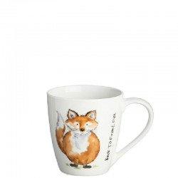 PRICE & KENSINGTON Back to Front Fox Mug kubek
