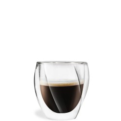 Vialli Design Cristallo zestaw 2 szklanek z podwójną ścianką