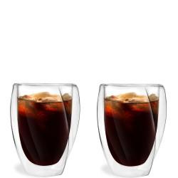 Cristallo zestaw 2 szklanek z podwójną ścianką