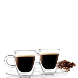 Amo 2 szklanki do espresso z podwójną ścianką