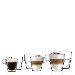 Vialli Design Senso Komplet 6 szklanek z podwójną ścianką