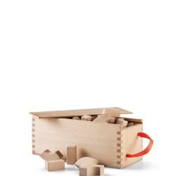 Kay Bojesen Alfabet klocki drewniane