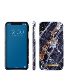 Midnight blue marble Etui ochronne do iPhone Xs Max