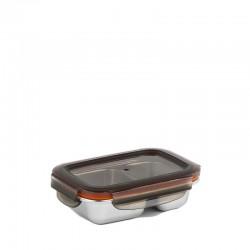 Cuitisan Flora lunchbox ze stali nierdzewnej, 2 przegrody