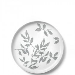 Menu Grey Leaves taca do serwowania