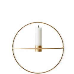 Menu POV Circle świecznik naścienny na świeczkę