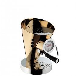 Casa Bugatti Diva Individual Gold ekspres ciśnieniowy pokryty 24 karatowym złotem