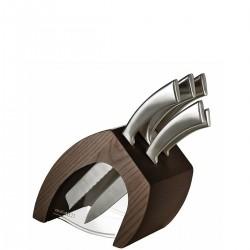 Casa Bugatti Trattoria blok noży z 5 nożami Ergo