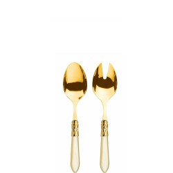 Casa Bugatti ALADDIN GOLD Komplet do serwowania sałaty
