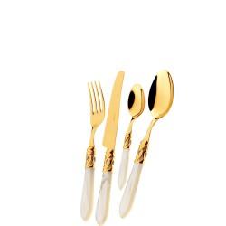 Casa Bugatti ALADDIN GOLD Zestaw Sztućców obiadowych