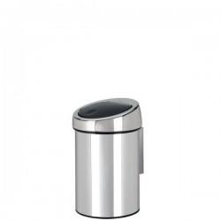 Brabantia Touch Bin Brilliant Stell kosz na śmieci