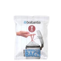 Brabantia Rozmiar V worki na śmieci 60szt