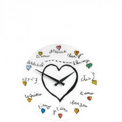 Loving You zegar ścienny