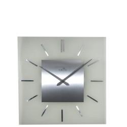 NeXtime Stripe Square Radio Controlled Zegar ścienny