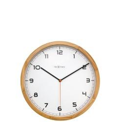NeXtime Company Wood zegar ścienny
