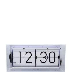 Big Flip Clear zegar stojący