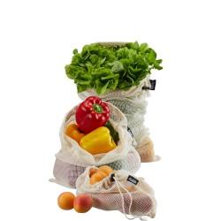 GEFU Aware Siatka na warzywa i owoce, 3 szt.