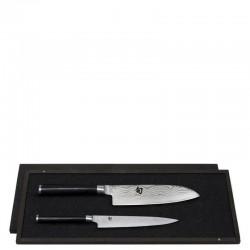 KAI Shun zestaw 2 noży w drewnianym etui
