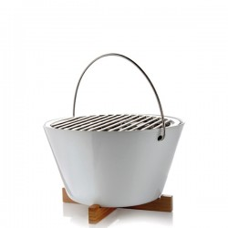 Eva Solo stołowy grill węglowy biały