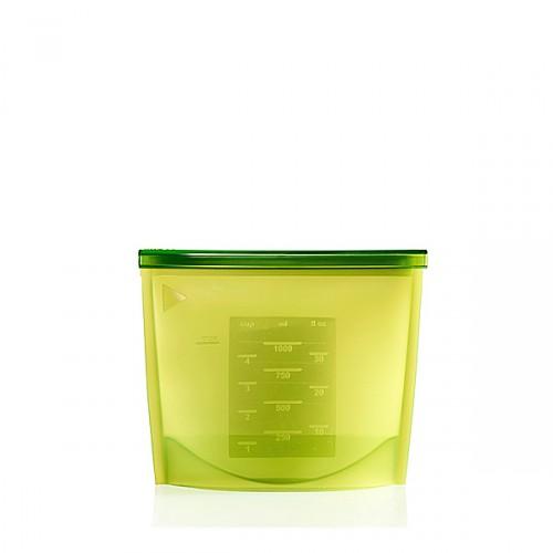 Lekue FRESH BAG pojemnik do przechowywania żywności, zielony