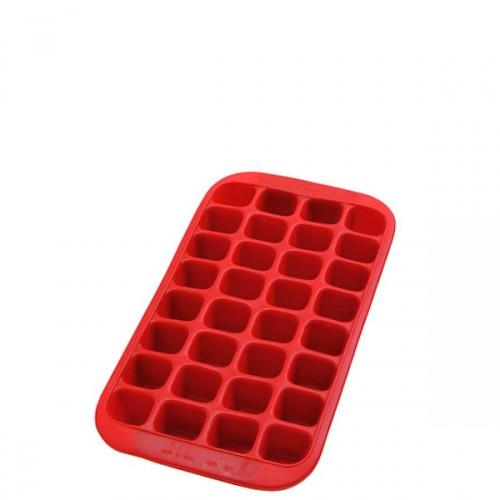 Lekue Gourmet foremka do kostek lodu, czerwona